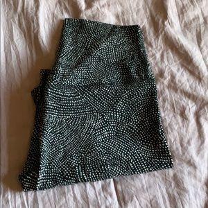 Lululemon yoga pants tights leggings size 6